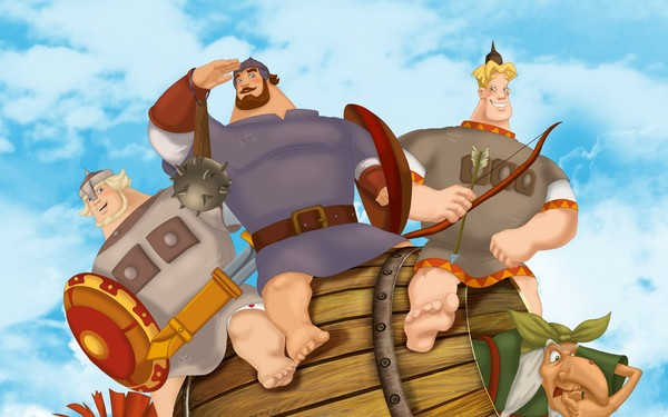 Какие актеры озвучивали мультик Три богатыря